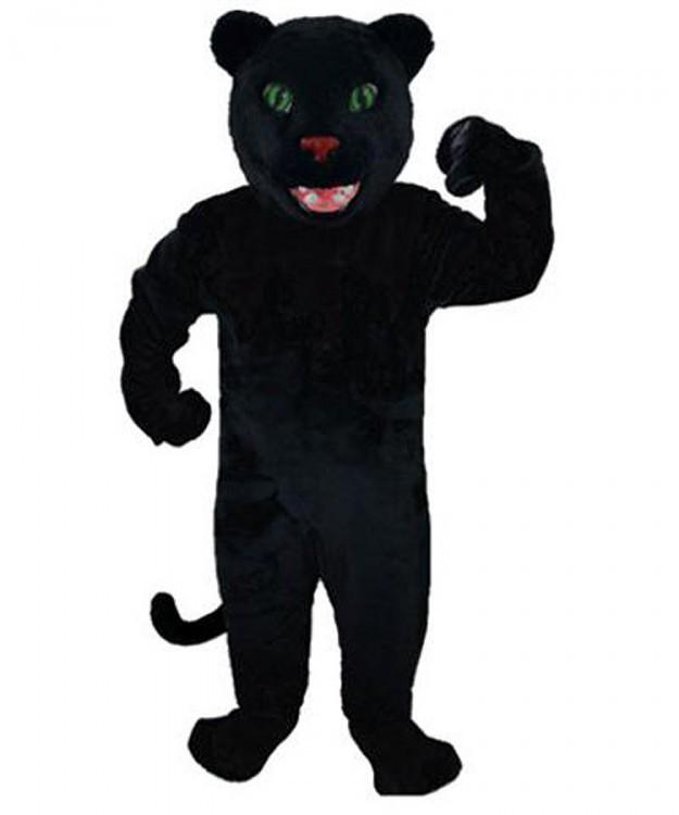 Panther Kostüme: Maskottchen Panther günstig kaufen oder