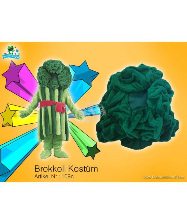 verleih 109c kost m brokkoli maskottchen broccoli g nstig mieten im kost mverleih bei. Black Bedroom Furniture Sets. Home Design Ideas