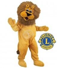"Kostüm Löwe Maskottchen ""Lions Club International"""