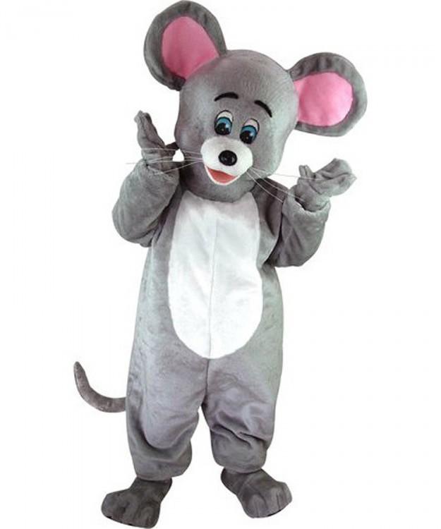 Maskottchen Maus Figur Kostüm