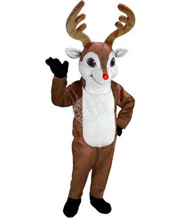 Rentier kost me maskottchen reh g nstig kaufen oder for Weihnachtsreh beleuchtet