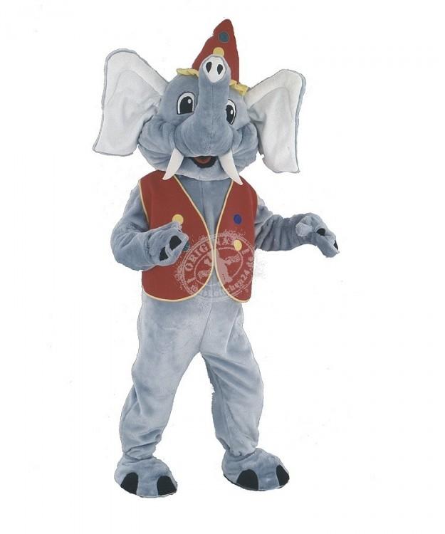 54a elefanten kost me maskottchen elefant 7 g nstig kaufen oder mieten auf. Black Bedroom Furniture Sets. Home Design Ideas