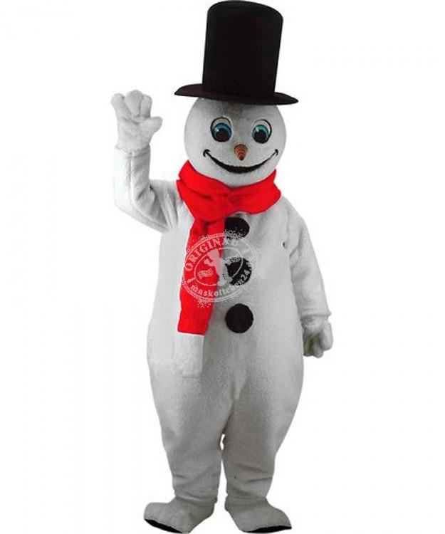 Schneemann Kostüm im Maskottchen Shop von Maskottchen24