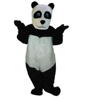 panda maskottchen kostum 5 professionell