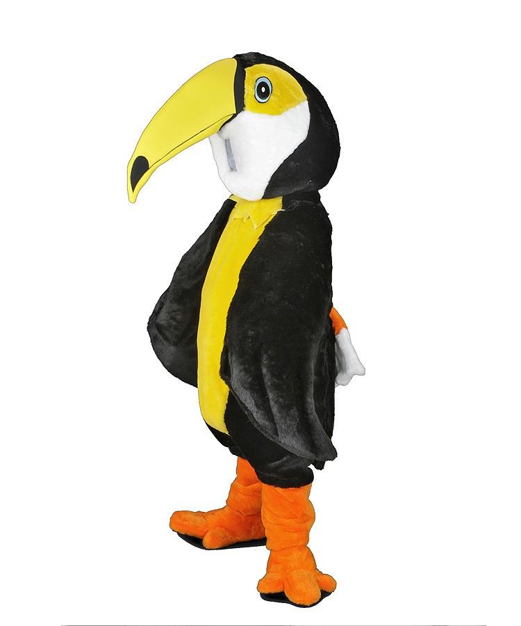 193b vogel tukan kost me maskottchen tucan g nstig kaufen oder mieten auf. Black Bedroom Furniture Sets. Home Design Ideas
