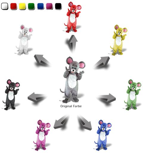 Farbwahl Kostüme